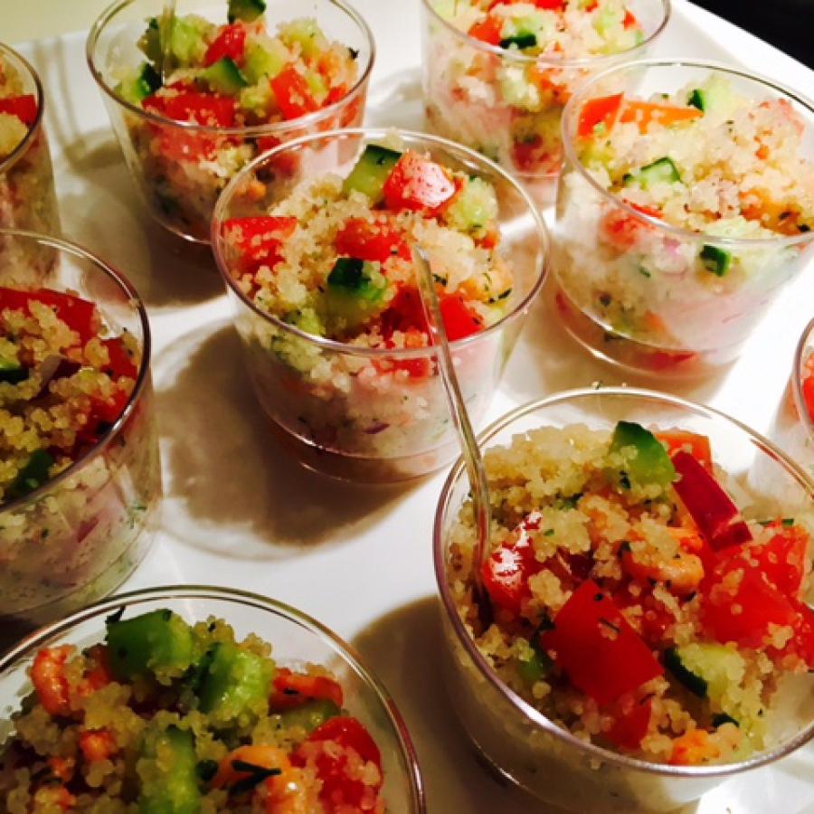 dîner d'anniversaire by Cooking Hali